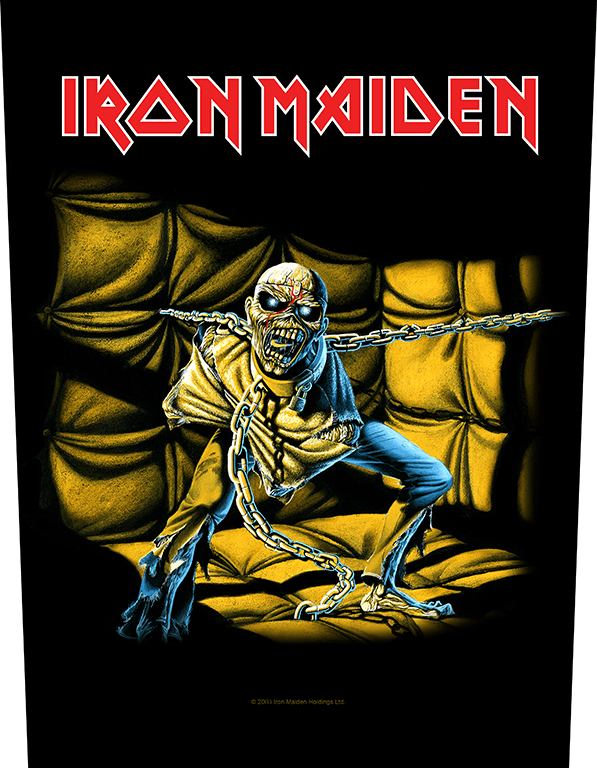 Iron Maiden Backpatch Piece of Mind