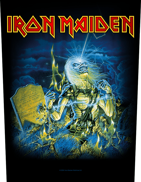 Iron Maiden Backpatch Live After Death
