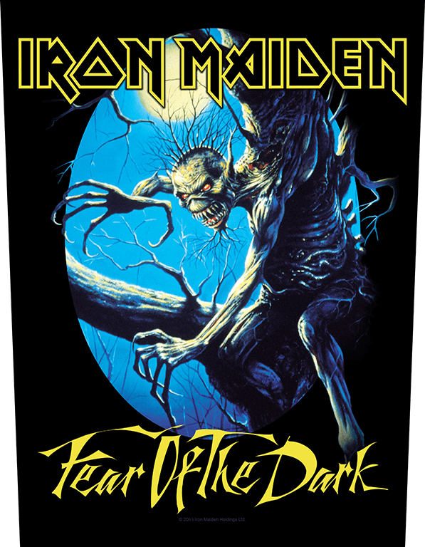 Iron Maiden Backpatch Fear of the Dark