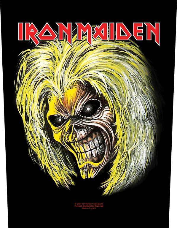 Iron Maiden Backpatch Killers/Eddie