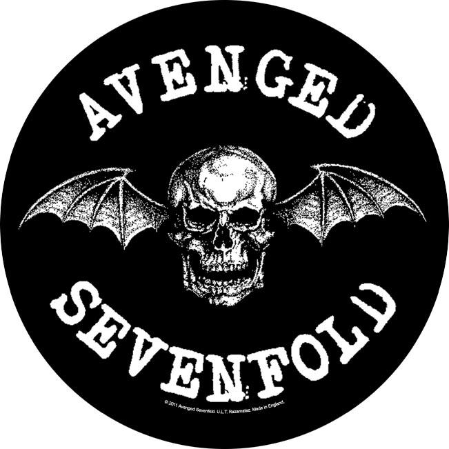 Avenged Sevenfold Backpatch Death Bat