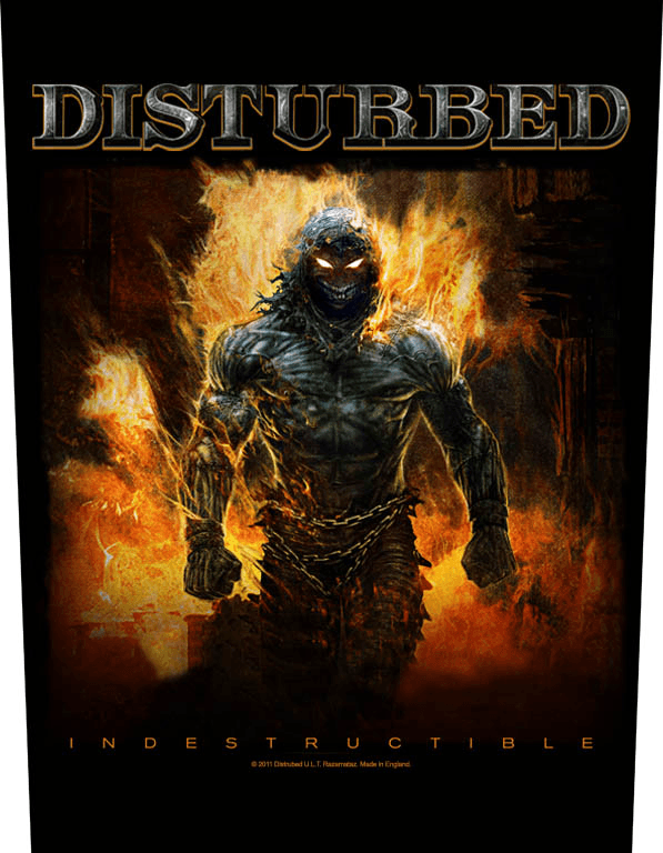 Disturbed Backpatch Indestructible
