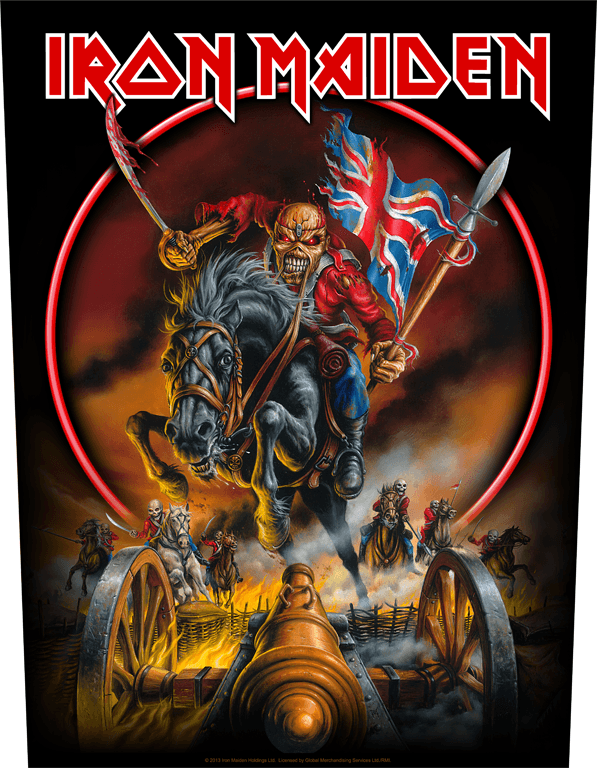 Iron Maiden Backpatch Maiden England