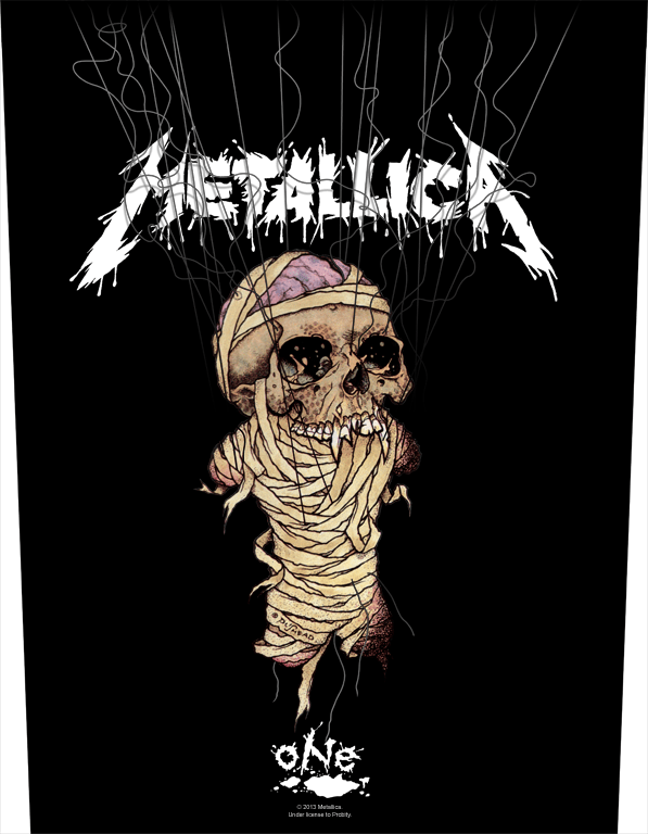 Metallica Printed Backpatch One / Strings