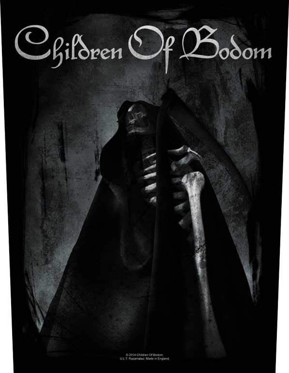 Children Of Bodom Backpatch Fear The Reaper