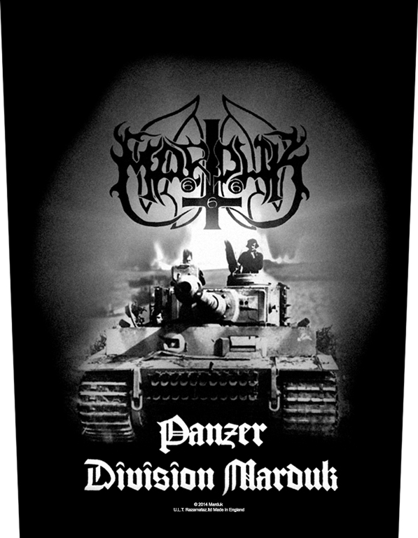 Marduk Printed Backpatch Panzer Division