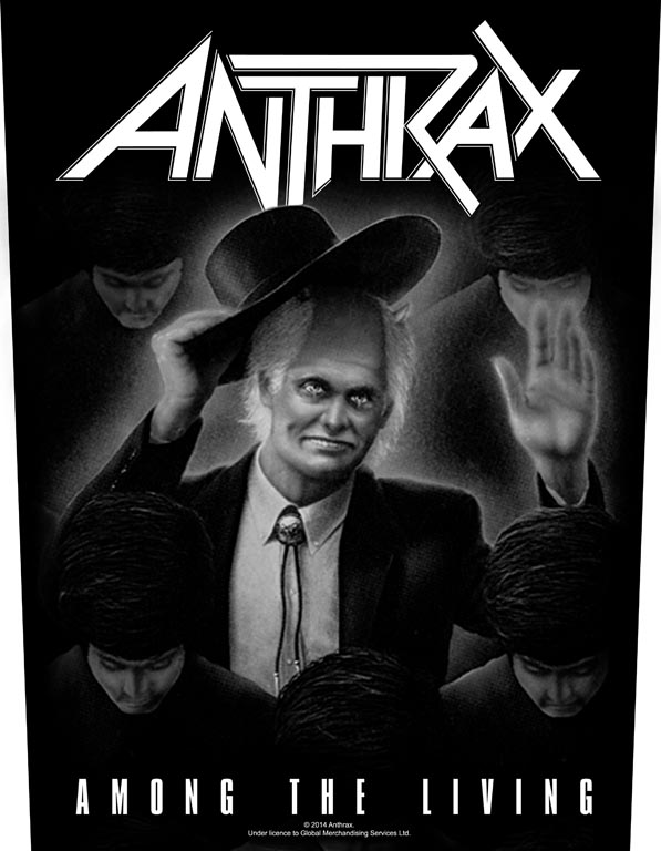 Antrax Backpatch Among The Living