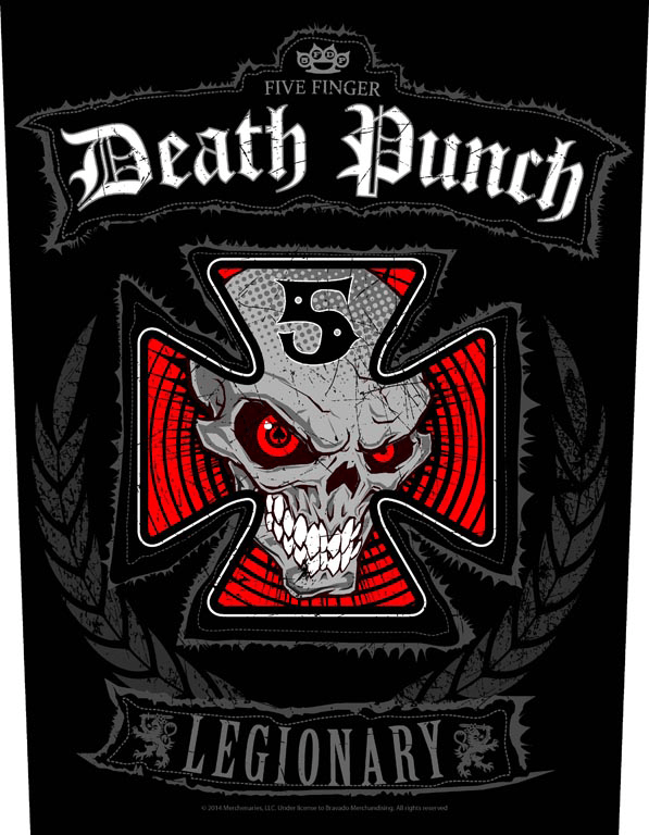 Five Finger Backpatch Legionary