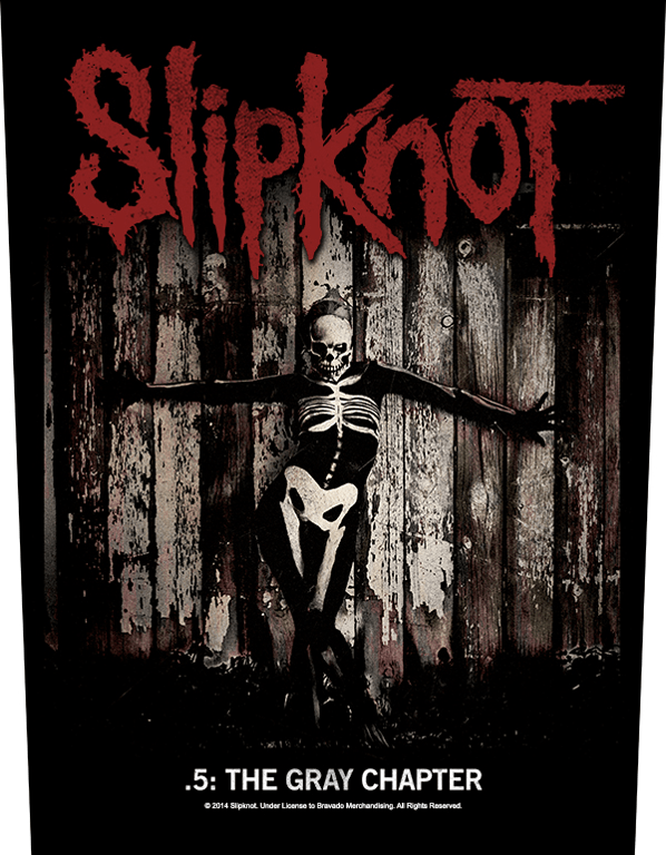 Slipknot Backpatch The Gray Chapter