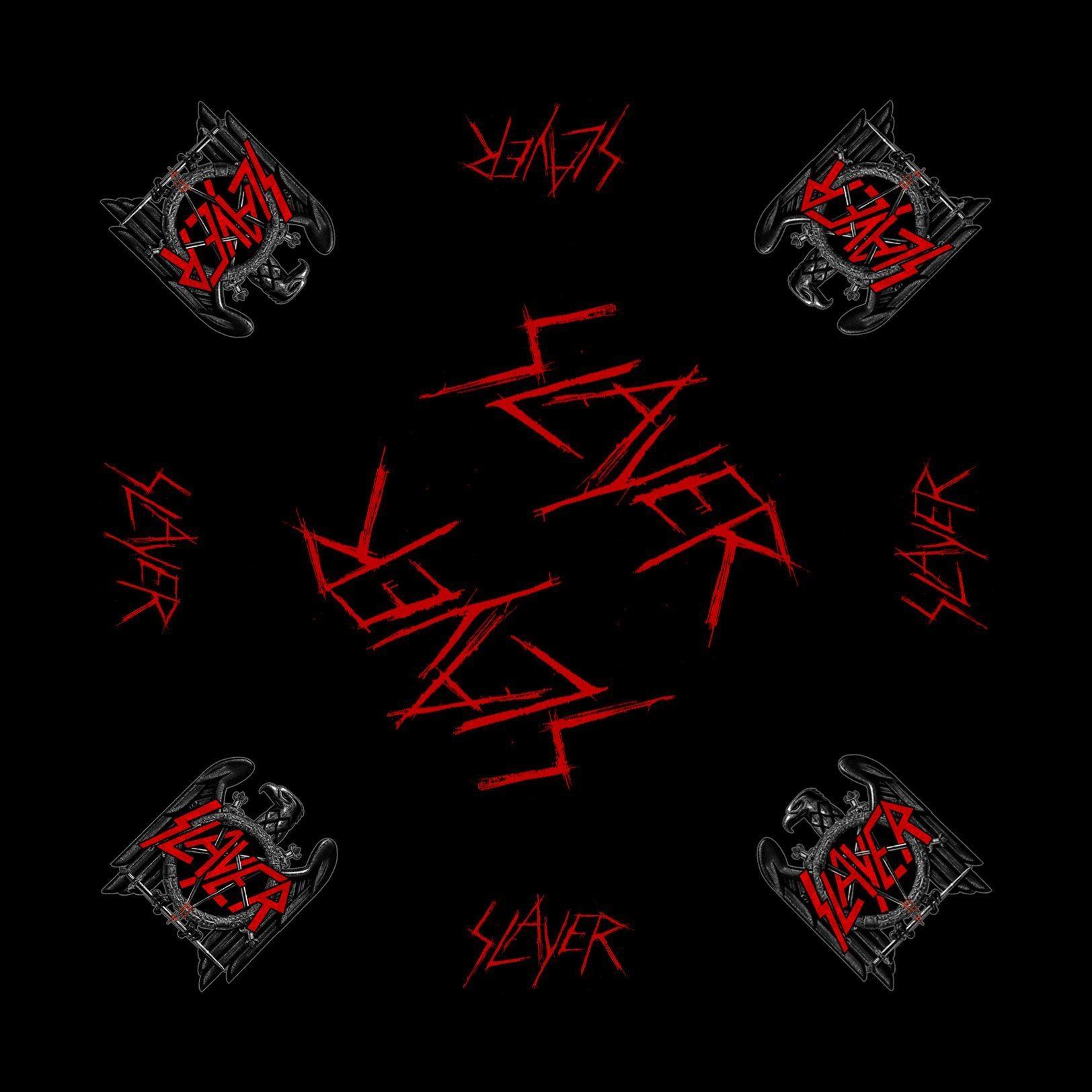 Slayer Bandanna Black Eagle
