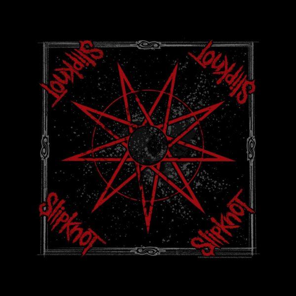 Slipknot Bandanna Nine Pointed Star