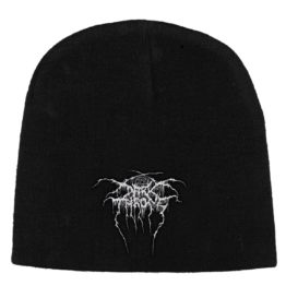 Dark Throne Beanie Hat Logo