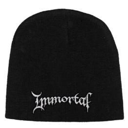 Immortal Beanie Hat Logo