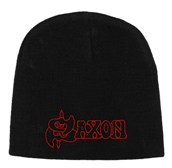 Saxon Beanie Hat Logo