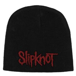 Slipknot Beanie Hat Red Logo