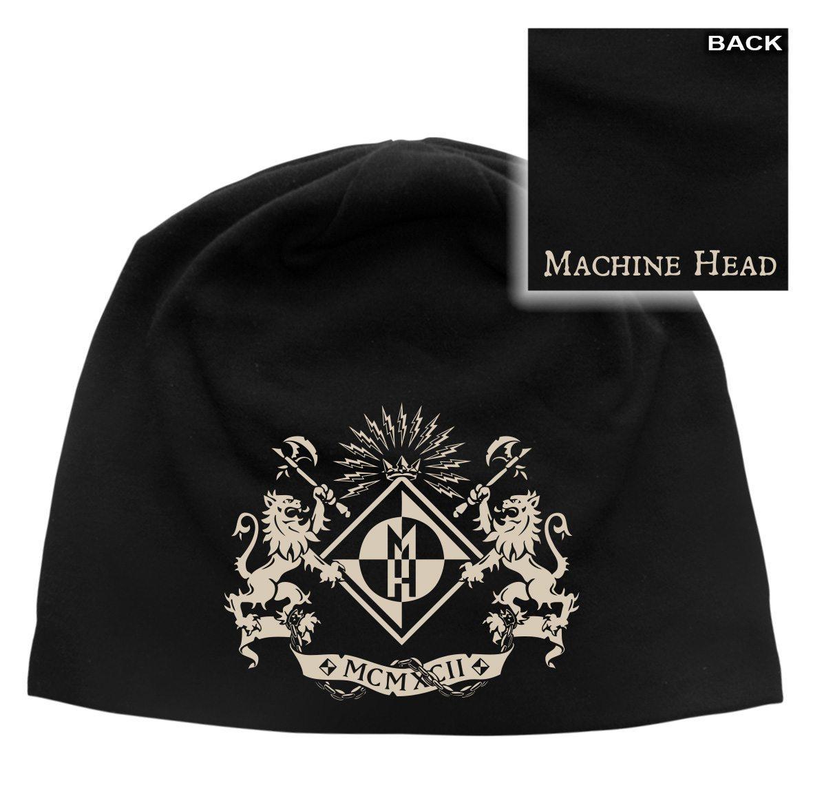 Machine Head Beanie Hat Crest