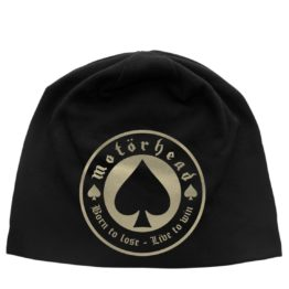 Motorhead Beanie Hat Born To Lose