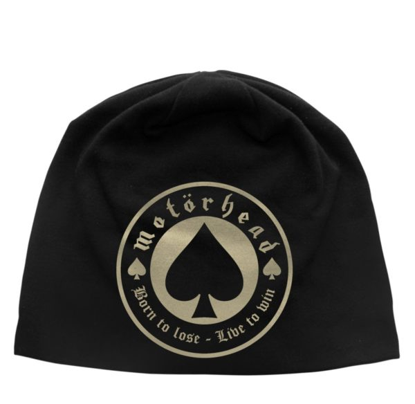 Motorhead Beanie Hat Born To Lose