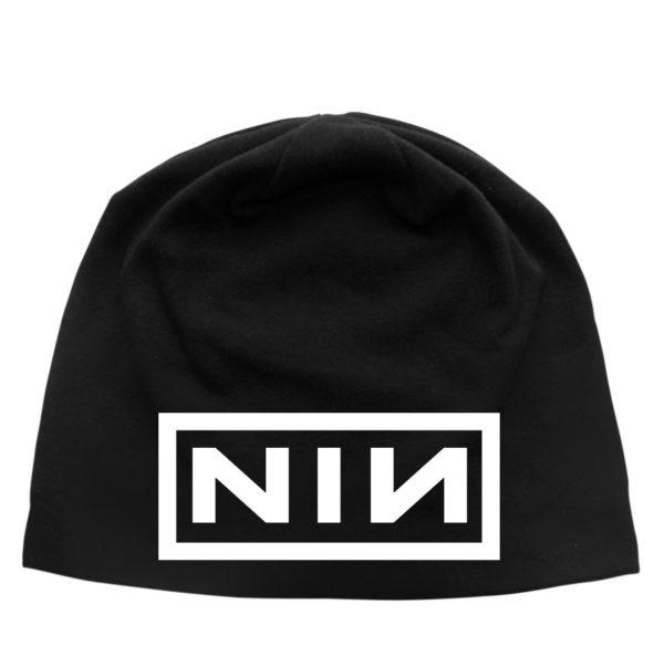 Nine Inch Nailse Inch Nails Beanie Hat Logo