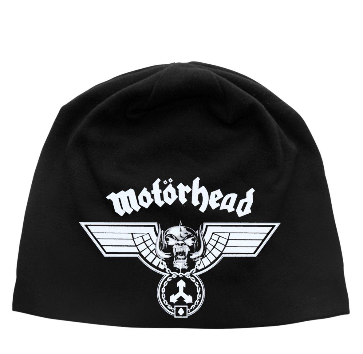 Motorhead Beanie Hat Hammered