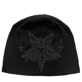 Dark Funeral Beanie Hat Logo