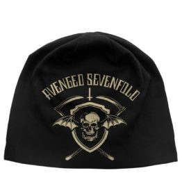 Avenged Sevenfold Beanie Hat Shield