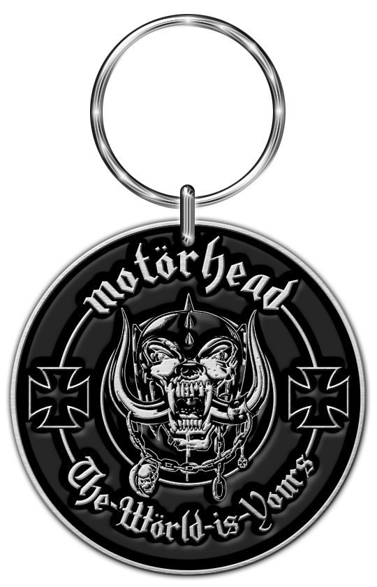 Motorhead Keyring The World Is Yours