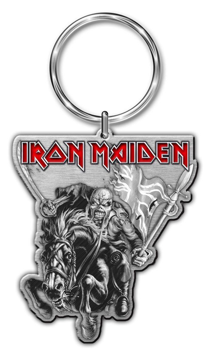 Iron Maiden Keyring Maiden England