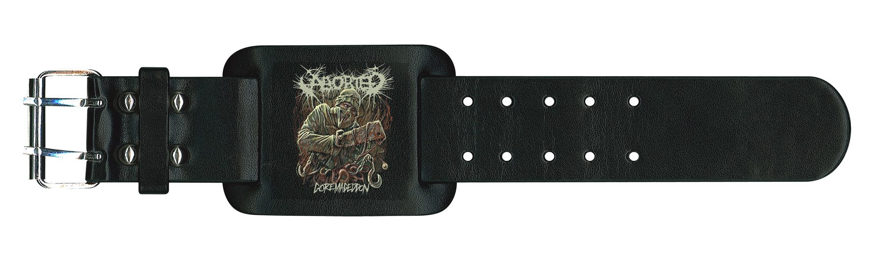 Aborted Leather Wristband Goremageddon