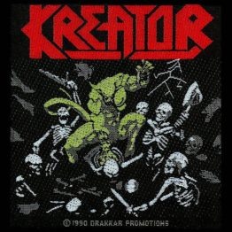 Kreator Woven Patch Pleasure To Kill
