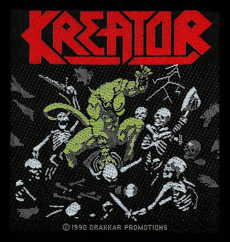 Kreator Woven Patch Pleasure To Kill