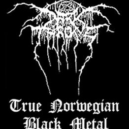 Dark Throne Woven Patch True Norwegian Black Metal.