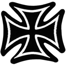 Iron Cross Woven Patch.