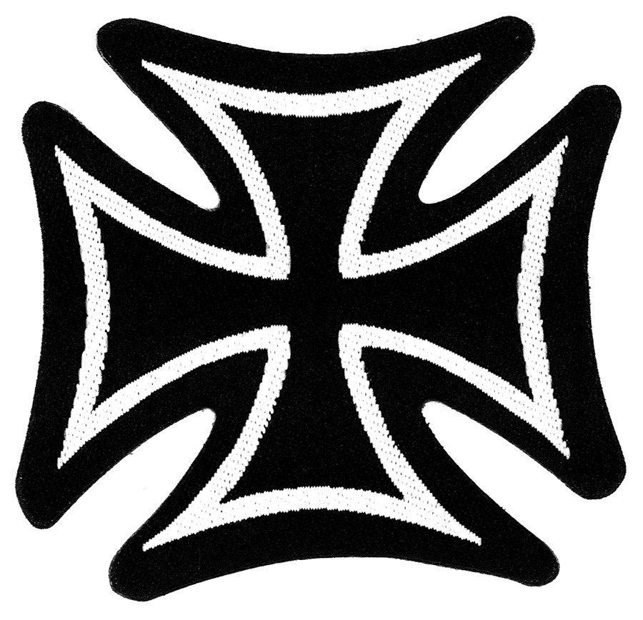 Iron Cross Woven Patch.