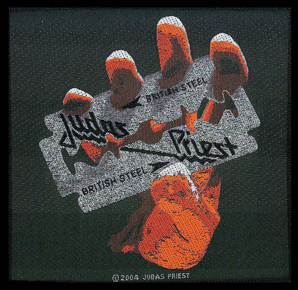 Judas Priest Woven Patch British Steel