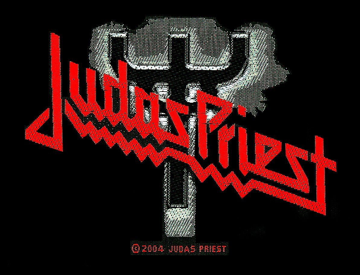 Judas Priest Woven Patch Logo/Fork