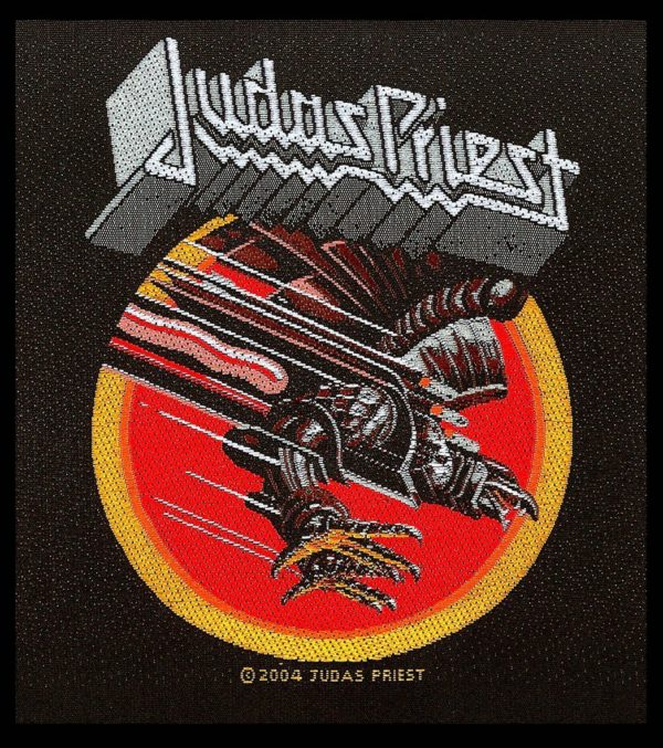 Judas Priest Woven Patch Screaming For Vengeance