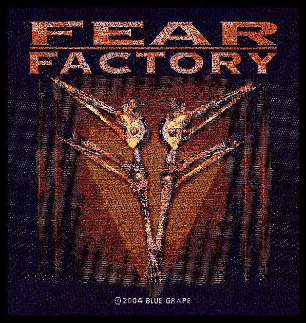 Fear Factory Woven Patch Archetype.