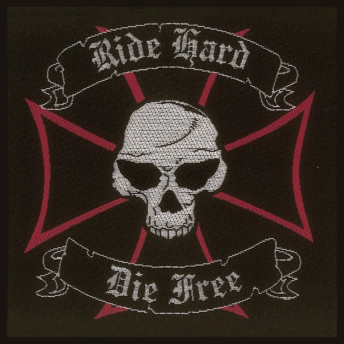 Ride Hard, Die Free Woven Patch.