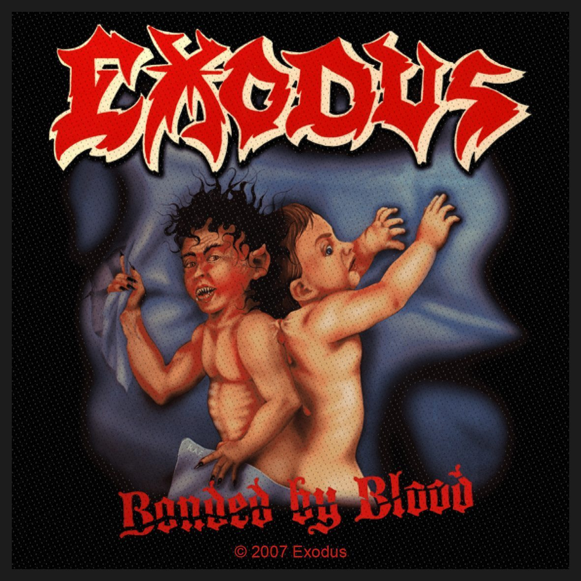 Exodus Woven Patch Bonded By Blood.