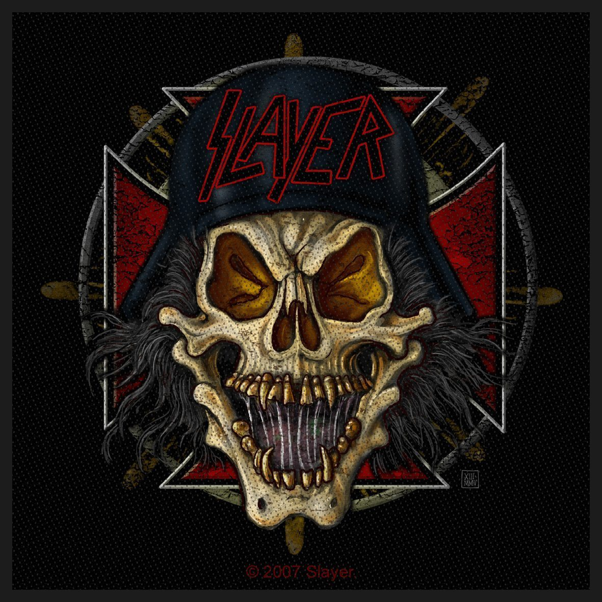 Slayer Woven Patch Slaytanic Wehrmacht