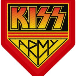 Kiss Woven Patch Army Badge