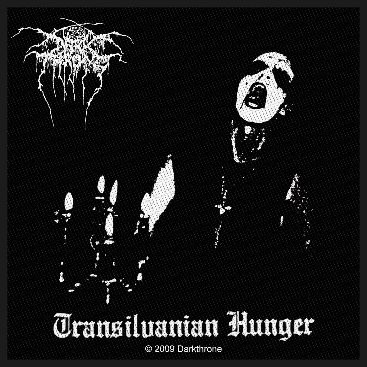 Dark Throne Woven Patch Transilvanian Hunger.