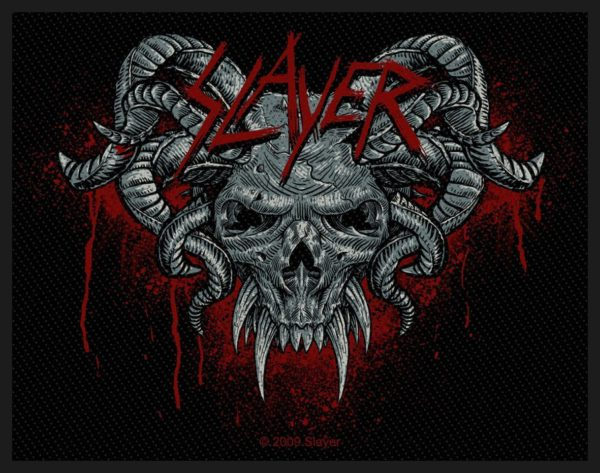 Slayer Woven Patch Demonic