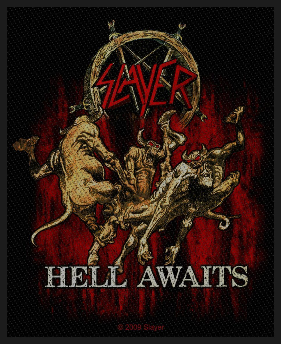 Slayer Woven Patch Hell Awaits