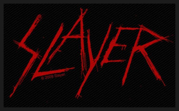 Slayer Woven Patch Scratched Logo