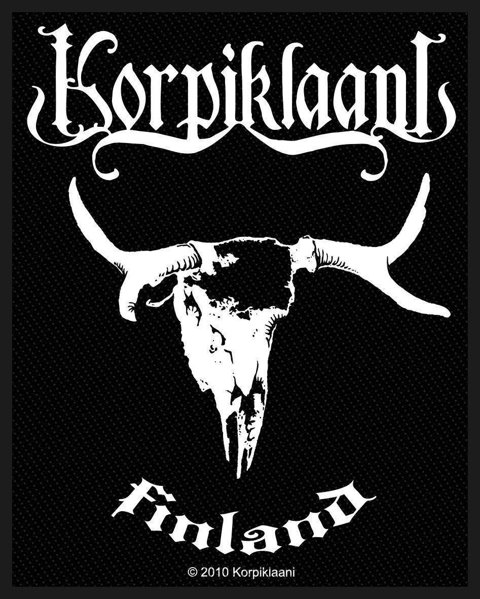 Korpiklaani Woven Patch Finland.
