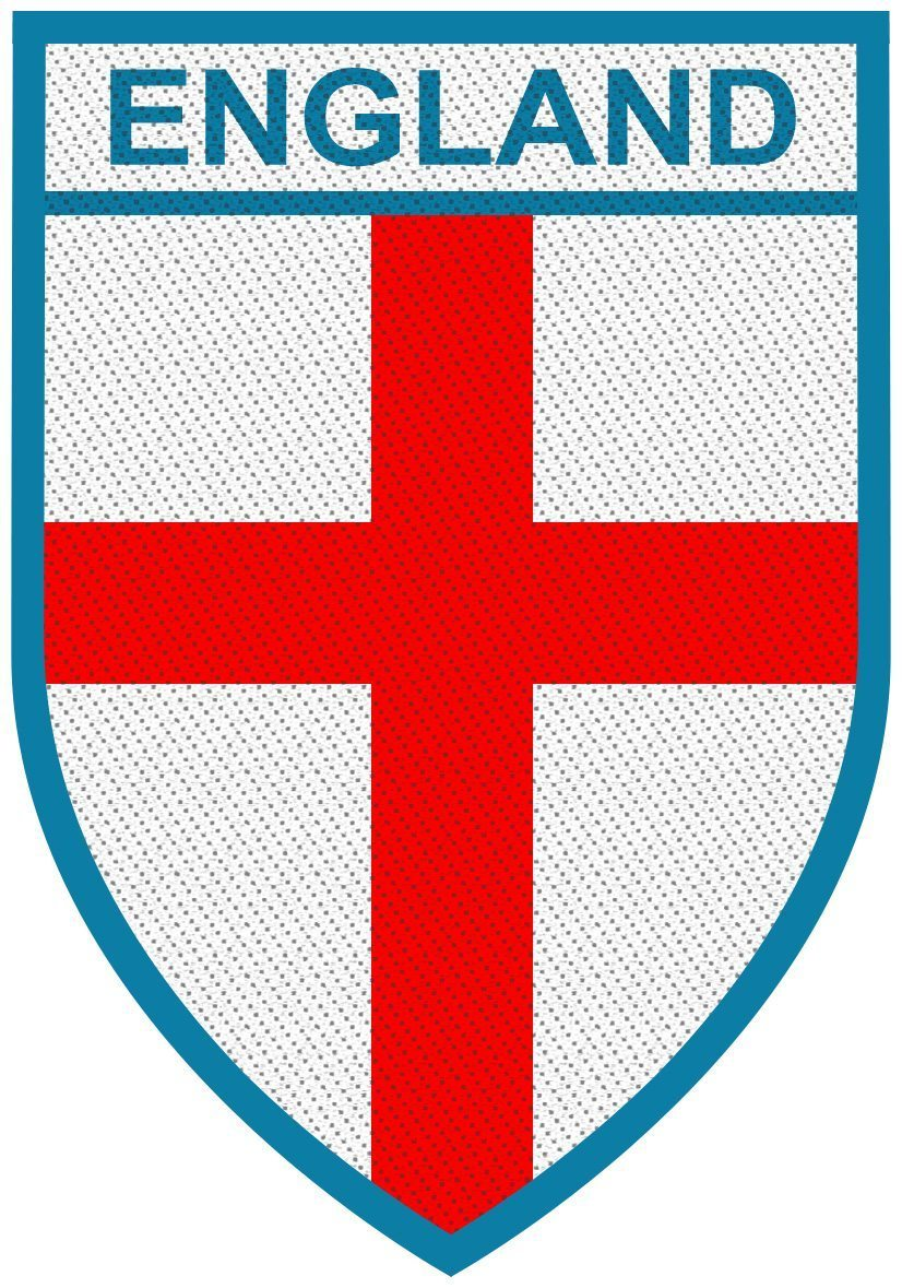 England Woven Patch.