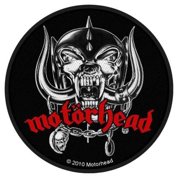 Motorhead Woven Patch War Pig.