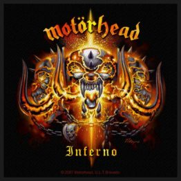 Motorhead Woven Patch Inferno.